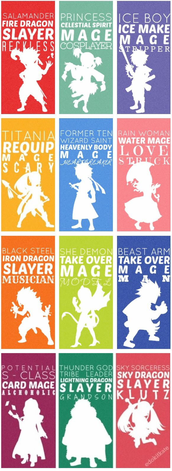 Fairy Tail not everyone is perfect :3
