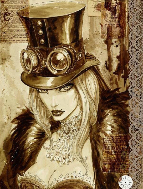 steampunktendencies: Illustrations by Olivier Ledroit