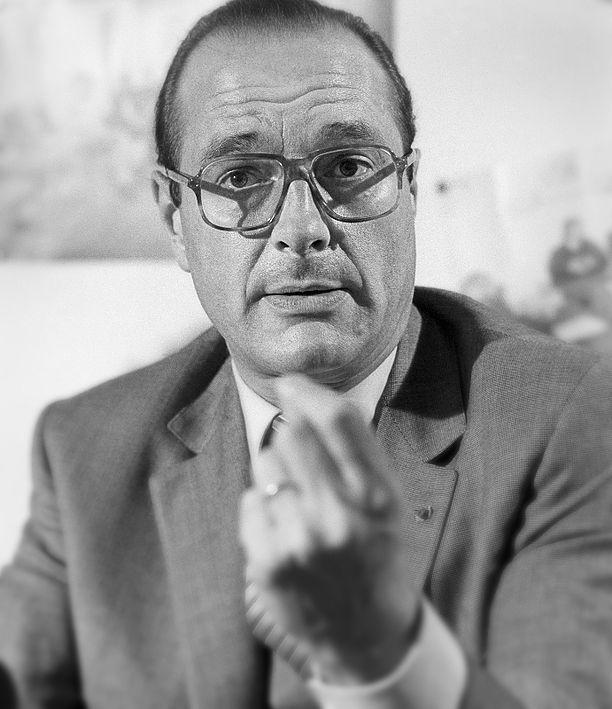 Jacques Chirac, ancien président de la république, France 1981. © Franck Pédersol