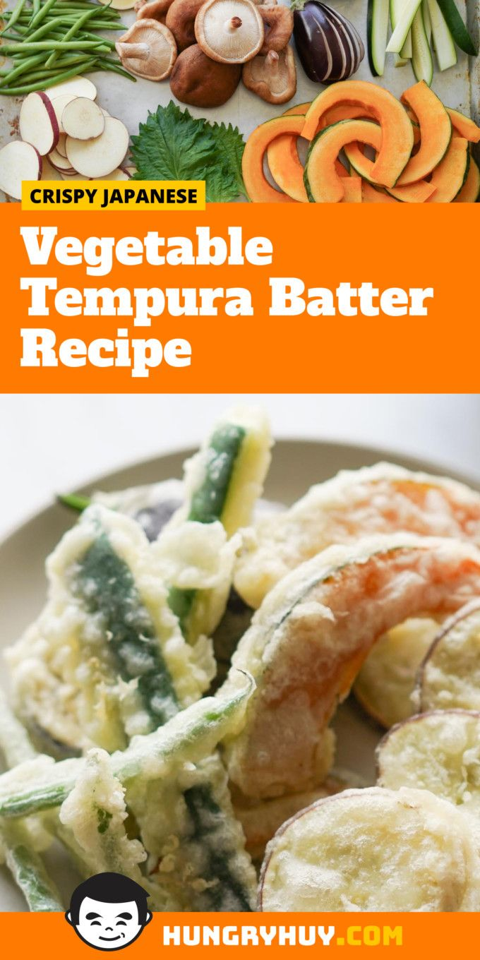 Vegetable Tempura Batter Recipe Hungry Huy Recipe Tempura Batter Tempura Batter Recipe
