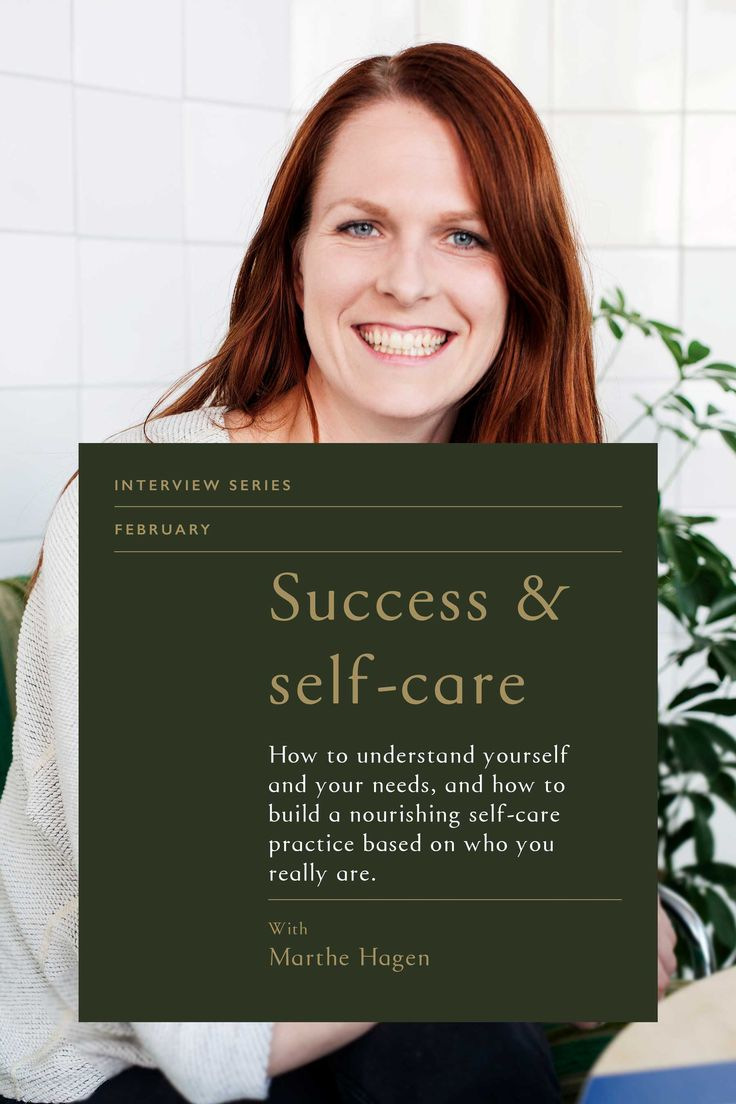 Success & Self Care