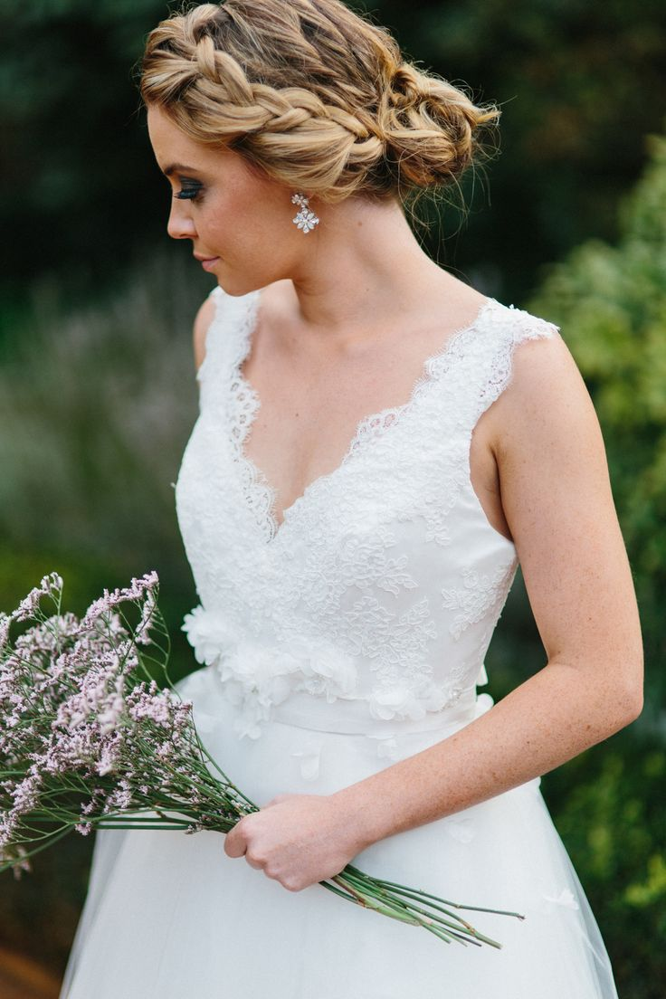 Beska - Bridal and Evening Couture Gardenia Gown- For more information visit https://www.facebook.com/beskacouture  Gowns // Beska Photographer // Thomas Stewart   Videographer // Tom Coburn   Model // Sophie Crenigan   Hair and Makeup // Makeup by Megan Flowers // Amity Blooms Venue // Bendooley Estate