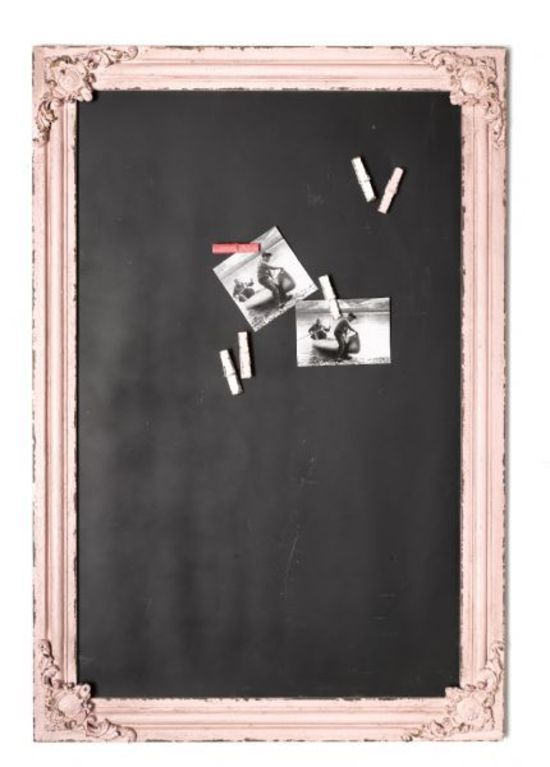 Vintage Style Blackboard http://www.perchhomewares.co.nz/shop/Living/Furniture/Vintage+style+Blackboard+Pink.html