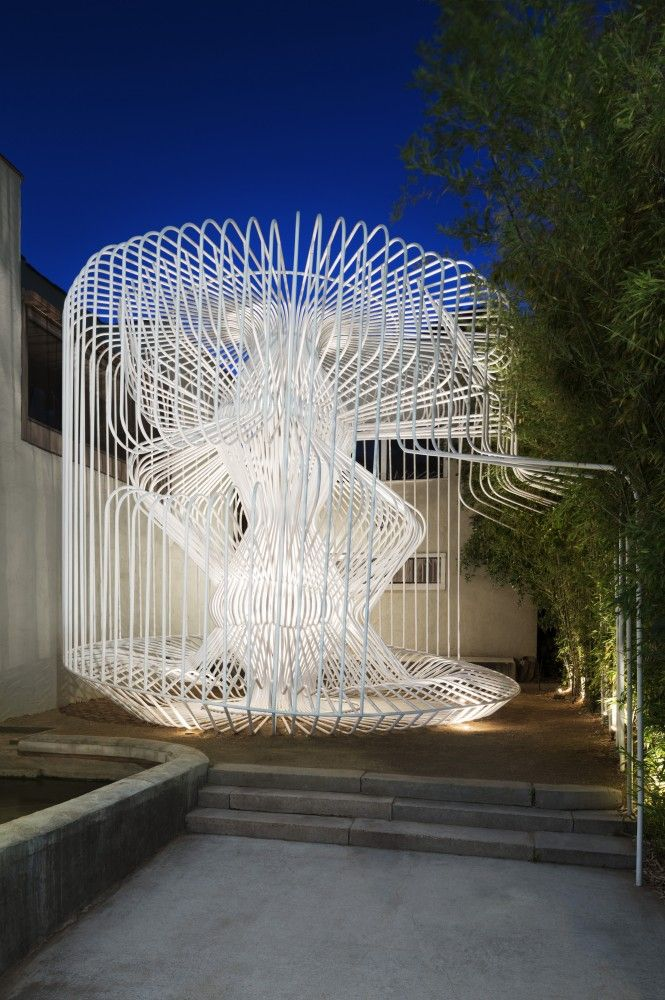 This Whimsical Cage Redefines Public Space