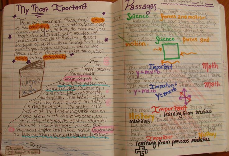 """8th grader Sydney's """"Important Book""""-inspired passages--based on writing across the curriculum topics.  Be sure to see our online lesson that explains how to inspire similar writing: http://corbettharrison.com/lessons/important-passages.htm"""