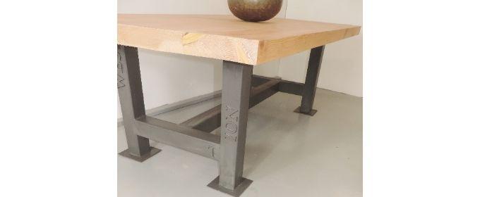 Rust furniture bar table