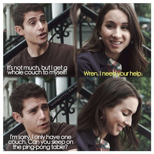 20 best images about Wren Quotes on Pinterest | PLL, Watch ...