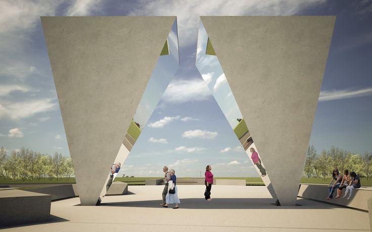 Primer lugar Concurso de Ideas Monumento del Bicentenario / Junin, Argentina