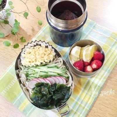 息子の☆冷やしたぬきそば弁当♪ by sachiさん | レシピブログ - 料理 ...