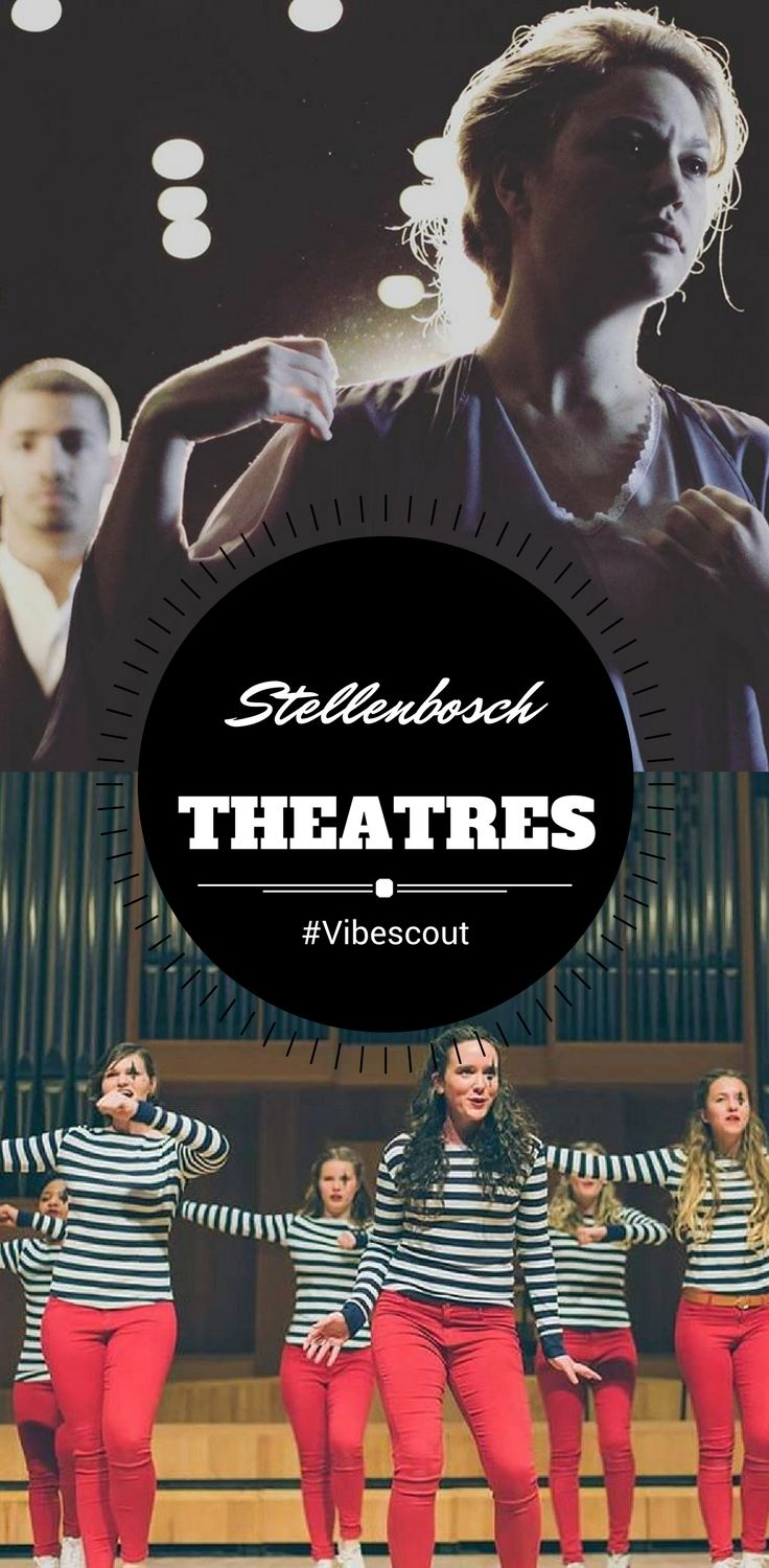 Stellenbosch provides a creative space with 4 different theatres mixing all kinds of arts.  #Stellenboschtheatres#theatreslovers