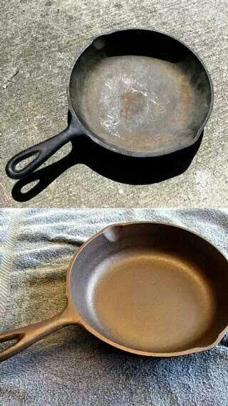 How to rejuvenate cast iron pots