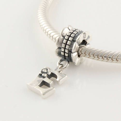 clle012e 925 sterling silver alphabet letter e dangle pandora charms beads pandora letters