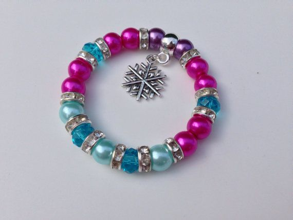 Cooling Necklaces That You Freeze : Disney frozen inspired bracelet anna fancy dress costume