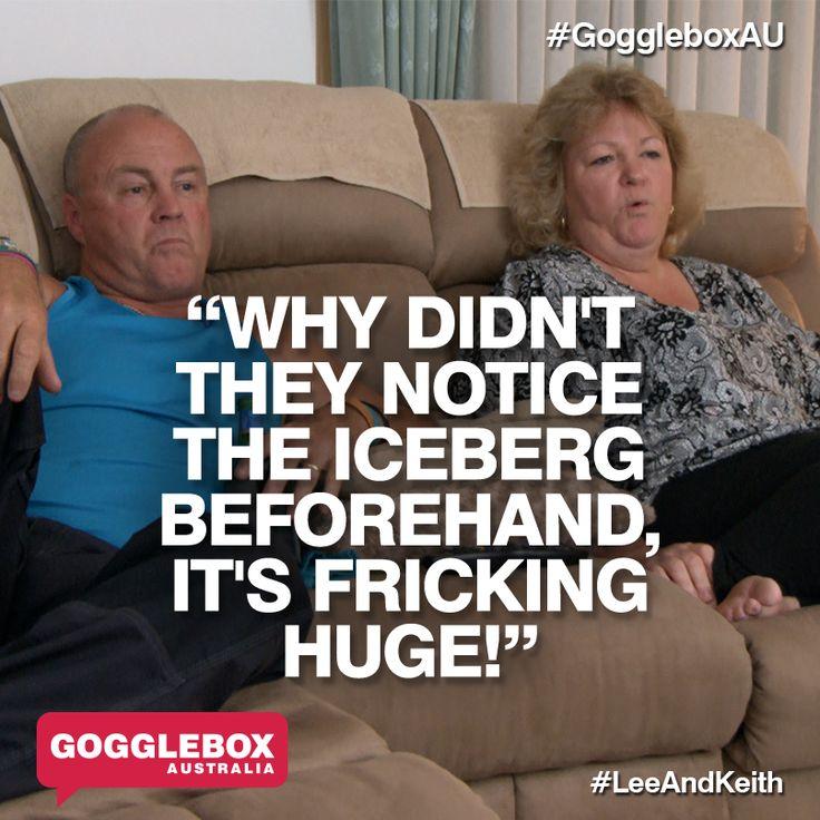 Gogglebox Australia - Keith and Lee