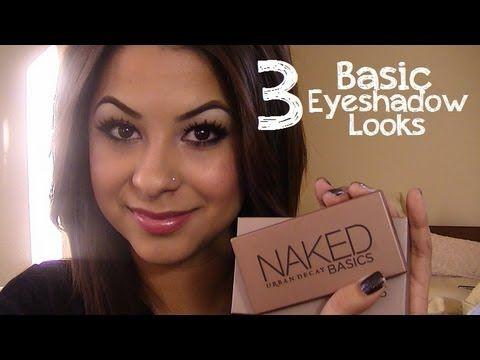 3 Basic Eyeshadow Looks Ft. Urban Decay Naked Basics Palette