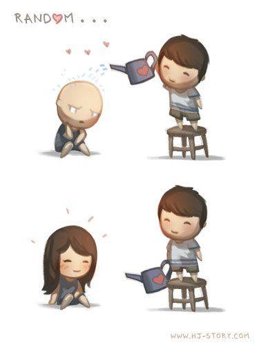 Love is...Random