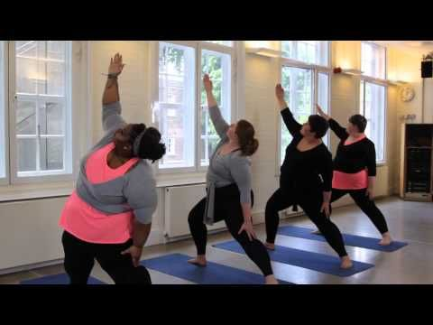 Plus Size Yoga intro Video - CurveSomeYoga - YouTube