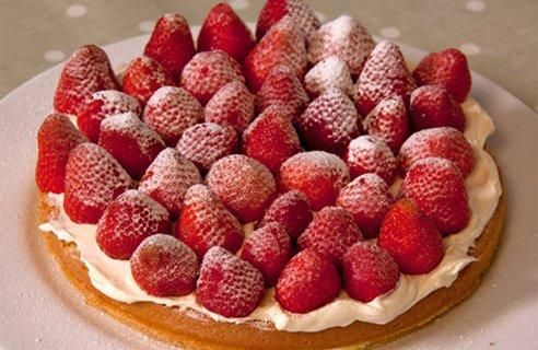 Genoese sponge cake
