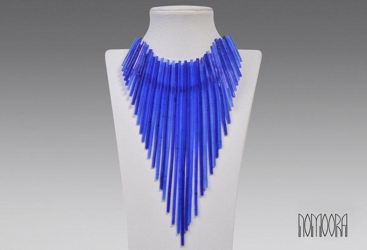 Spaghetti neclace.Contemporary jewel by Petros Mantouvalos for Nomoora Jewellery.