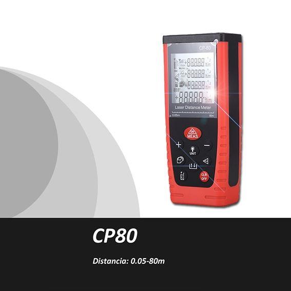 44.64$  Watch now - Trena Metro laser,Medidor de Distancia Laser,0.05-80m,Medidor volumen laser,medidor area laser,Cinta Metrica,range finder,CP80  #magazine