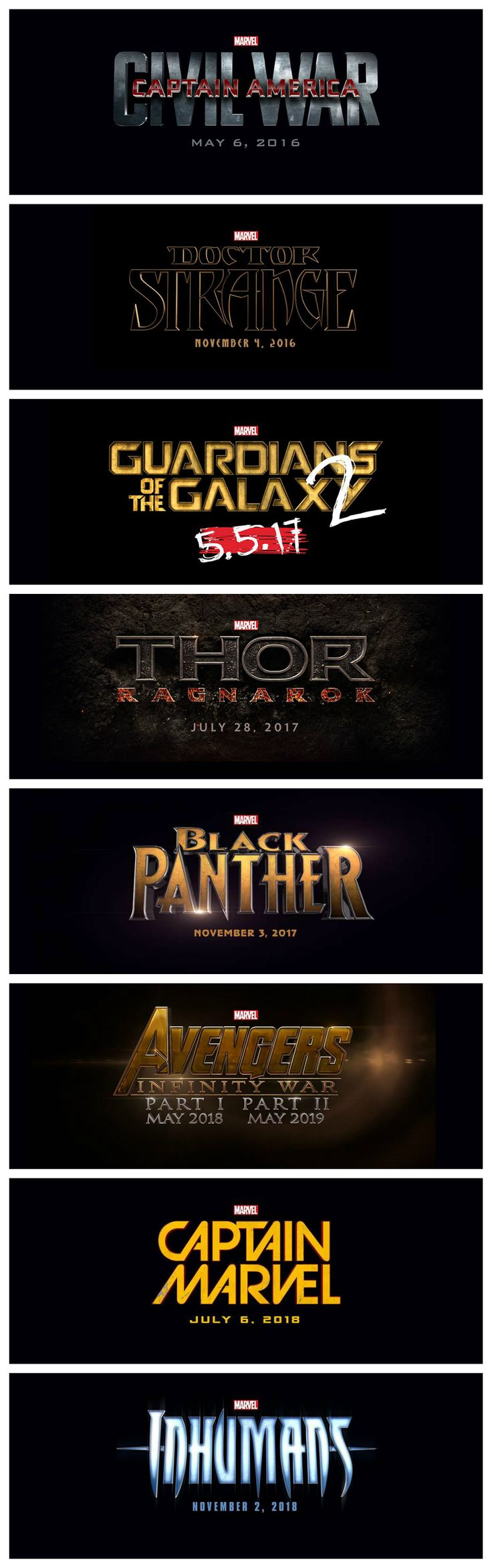 MARVEL JUST ANNOUNCED ALL THEIR MOVIES UP UNTIL 2018 AND IT'S 100% OFFICIAL AND there is just no way to process all this.