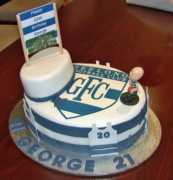 Geelong Football Club Cake