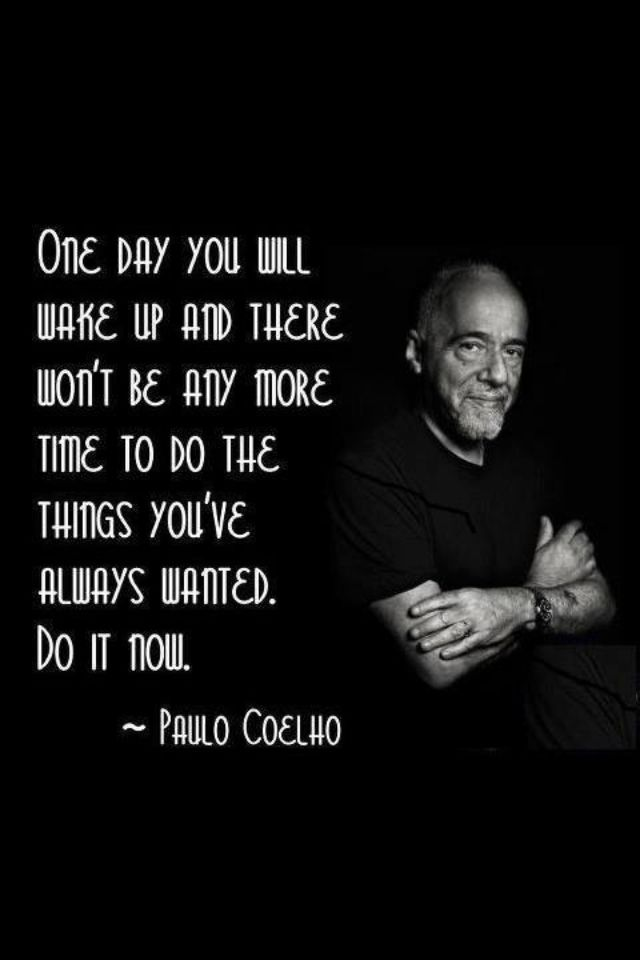Paolo Coelho...