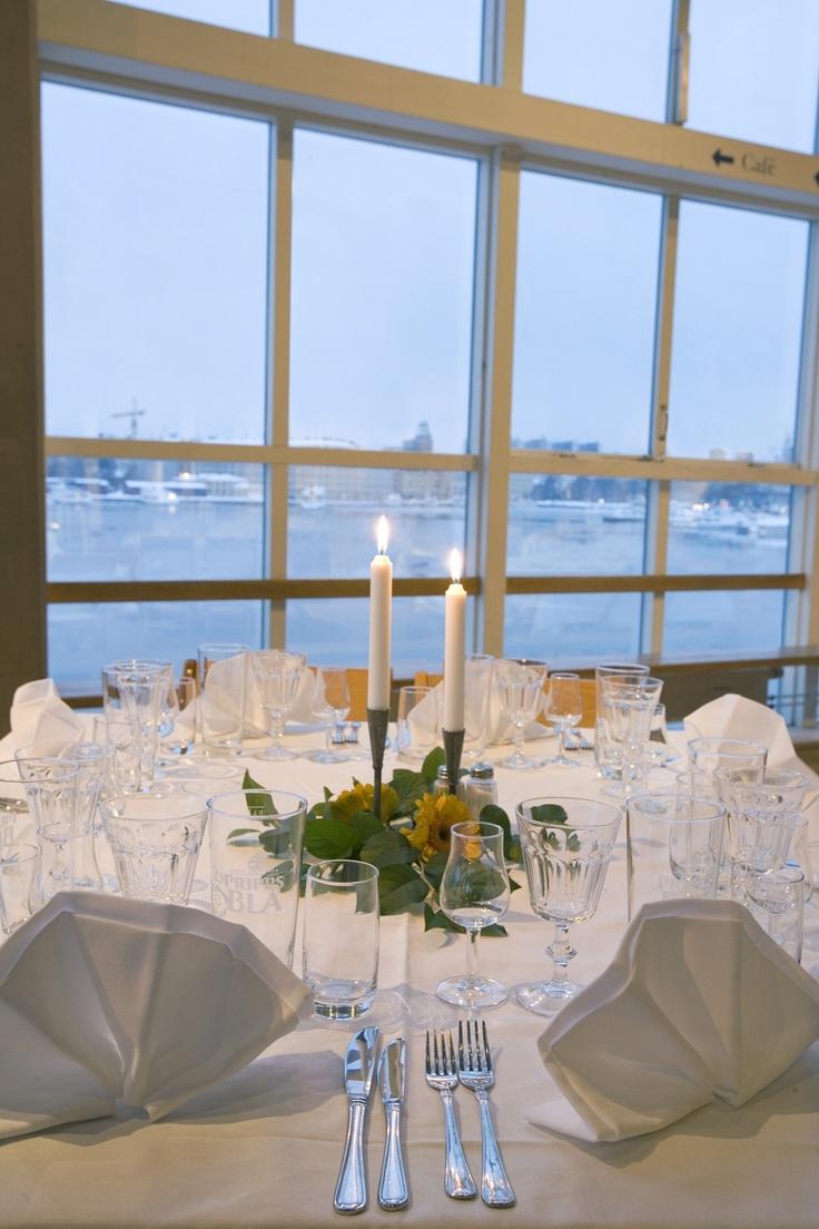 Bröllop på Junibacken. (Wedding arrangement at Junibacken).