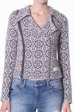 Odd Molly - 512A - lovely knit biker jacket