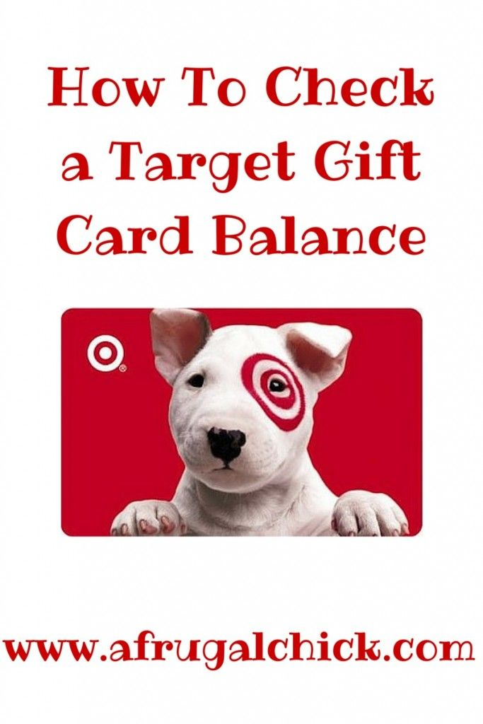 I often find Target gift cards in my wallet.   Since Target has so many great deals with gift cards I earn a few of them and then forget I have them!  And since knowledge is power it's good to know how much I have on them BEFORE I head to the store!