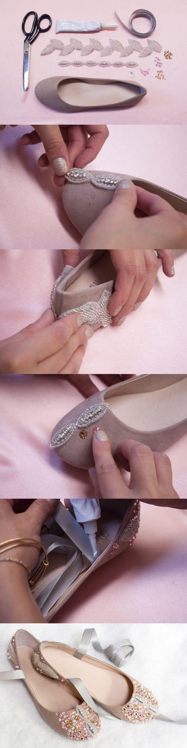 <3 <3 ADD diy www.customweddingprintables.com #customweddingprintables ... MY HEELS! Diy Fashion Tutorial