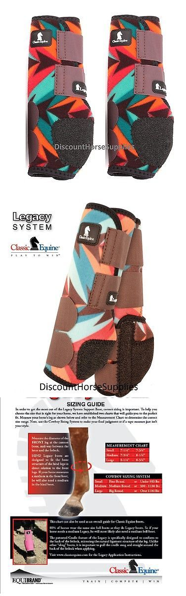 Horse Boots 85260: Classic Equine Chocolate Twist Legacy System Front Leg Support Splint Boots M -> BUY IT NOW ONLY: $71.99 on eBay!