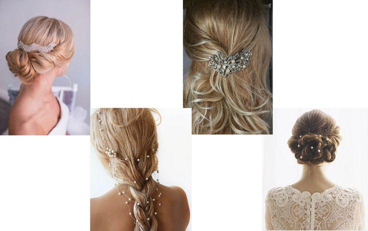 bryllupsfrisyrer brudefrisyrer hår