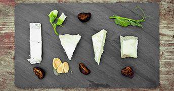 Amuse Bouche cheese slate