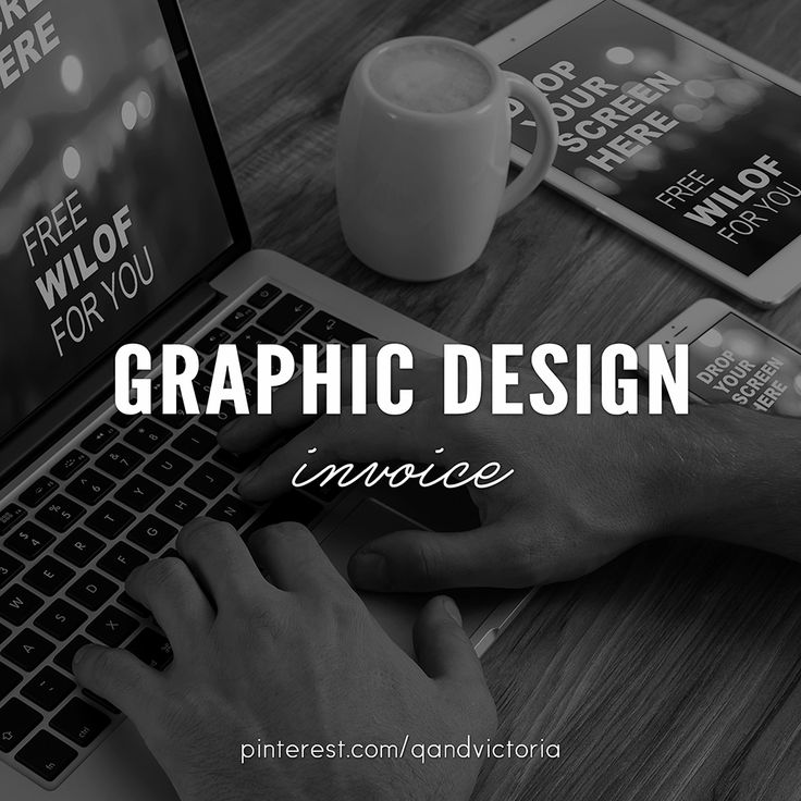 The 21 best graphic design   invoice images on Pinterest   Graphics     graphic design   invoice