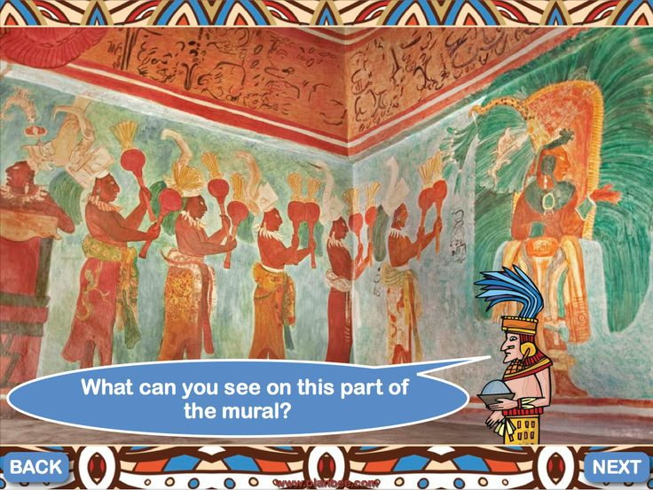 1000 images about the maya on pinterest name labels for Bonampak mural painting