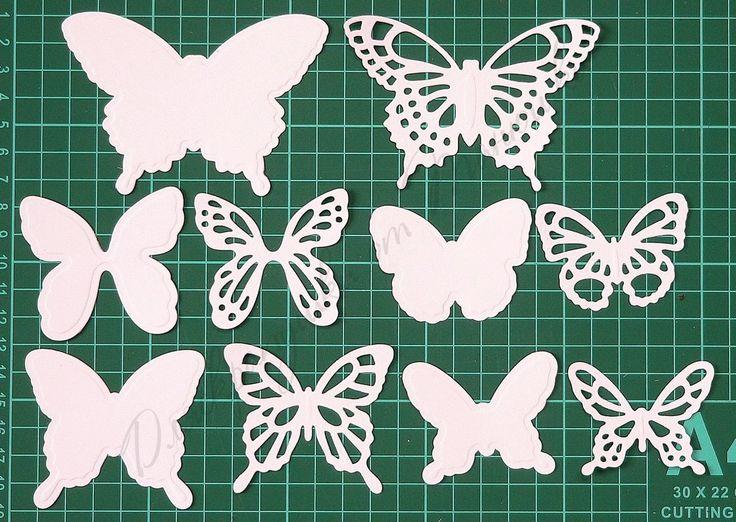 Вырезать бабочек картинки