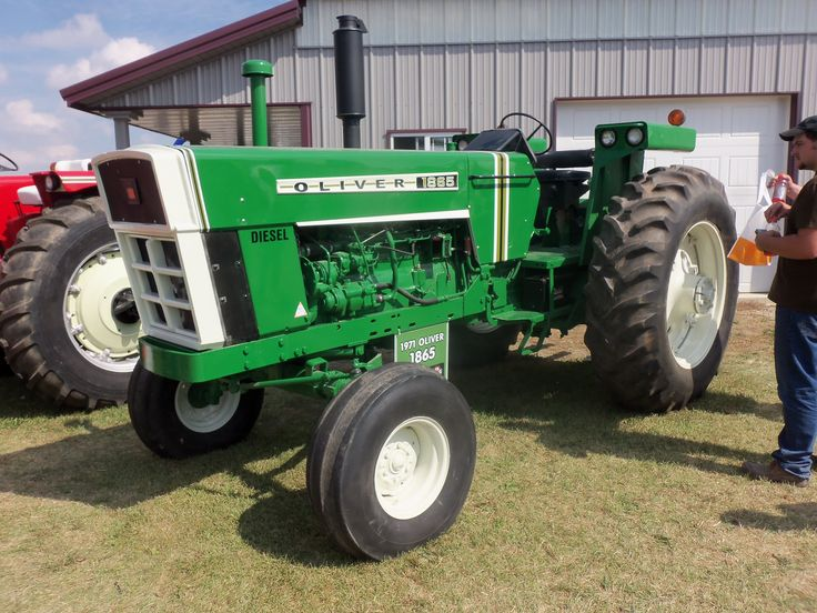 Oliver 990 Tractor : Hp oliver very similar to minneapolis moline g