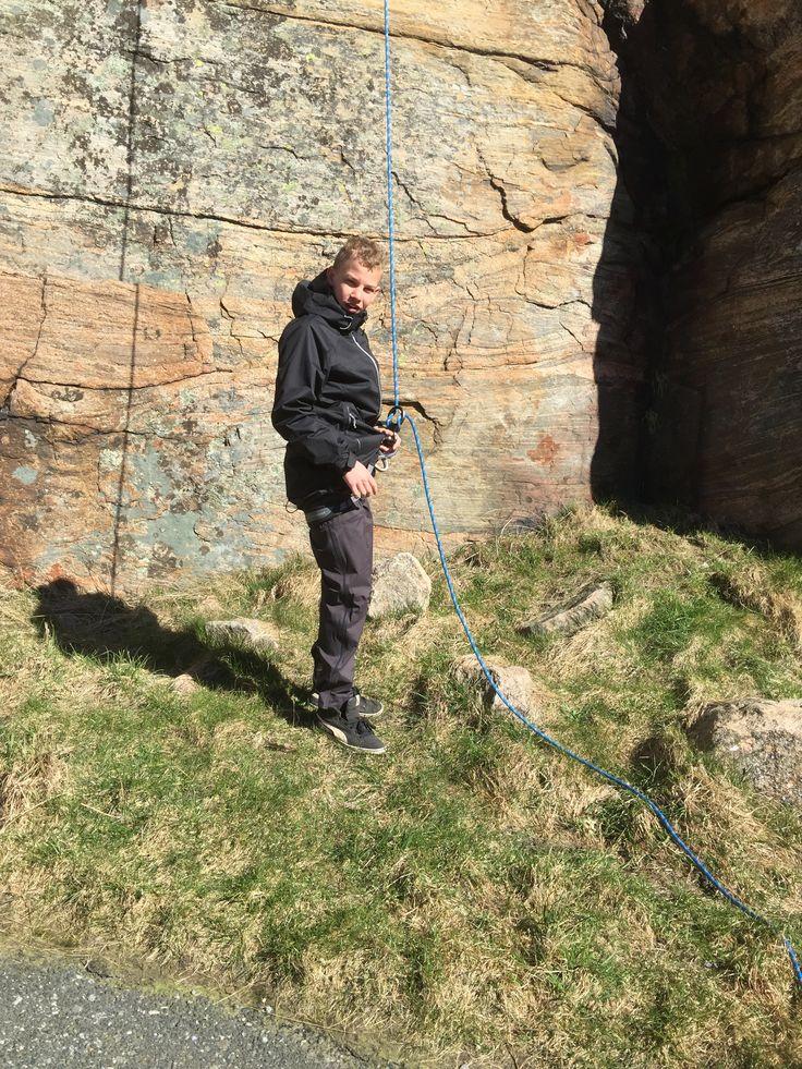 Climbing is fun :)