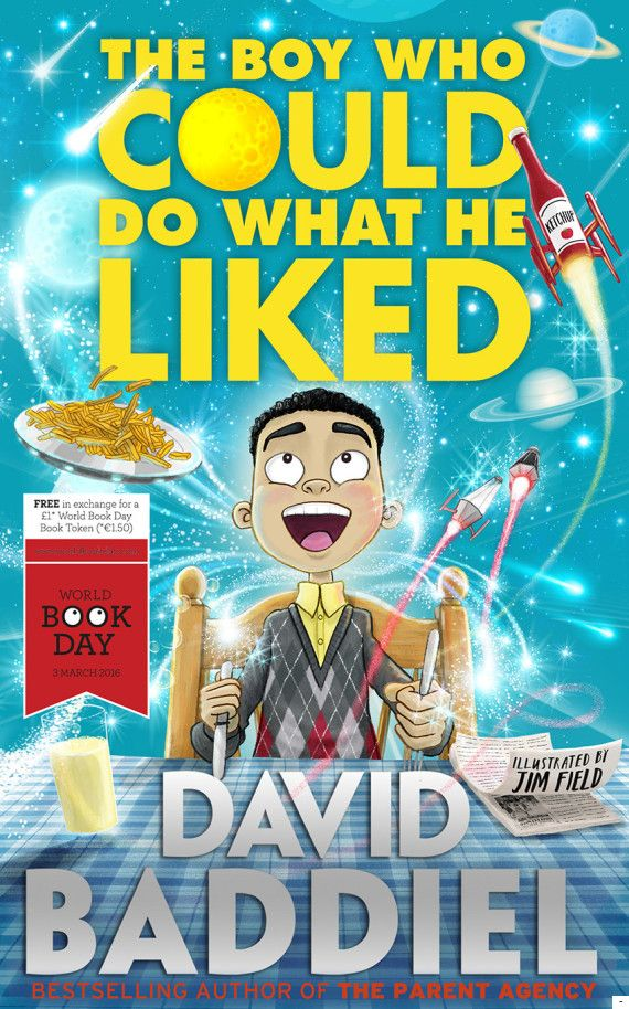 World Book Day 2016: David Baddiel On Why Adding Comedy To Kids' Books Is like A 'Spoonful Of Sugar' | The Huffington Post