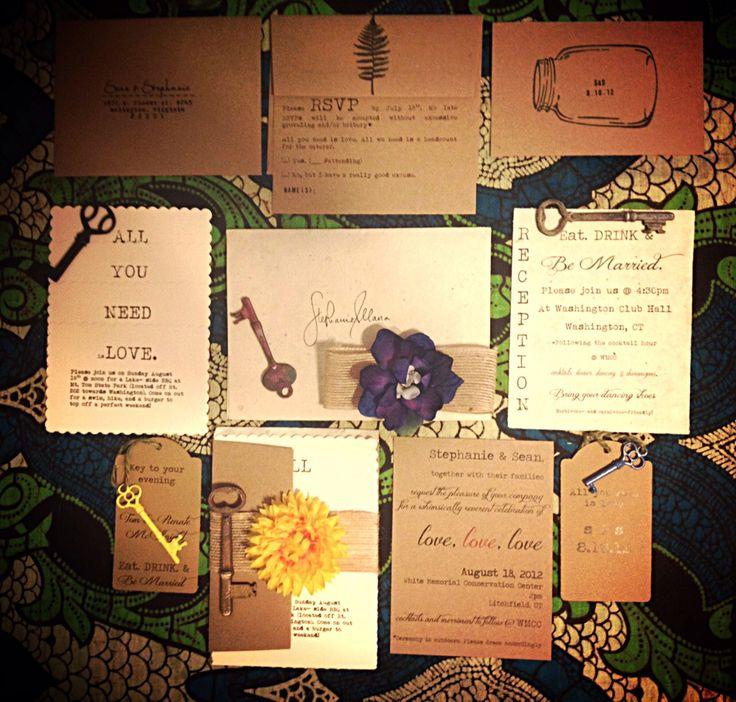 vintage country garden wedding invitations%0A RUSTIC  VINTAGE  Whimsical DIY Wedding Invitation Suite  Printable pdf