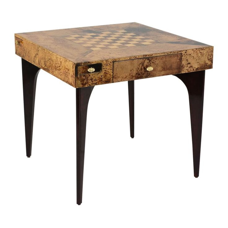 Modern-style Game Table by Aldo Tura