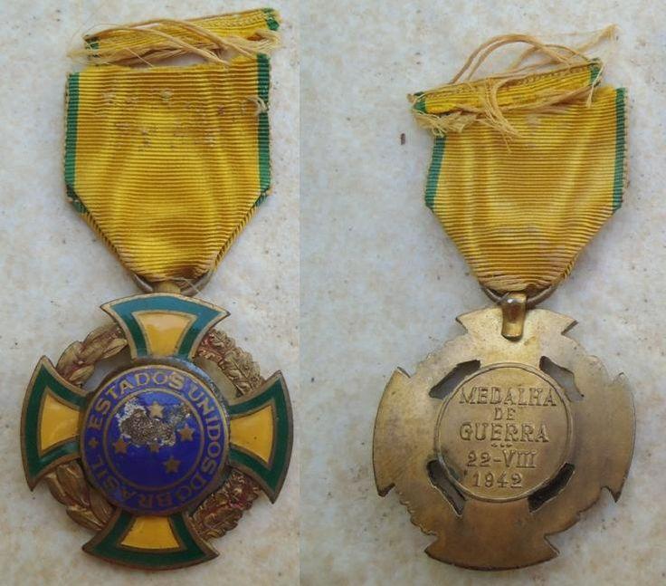 Medalha de Guerra – Força Expedicionária Brasileira   Militaria e História