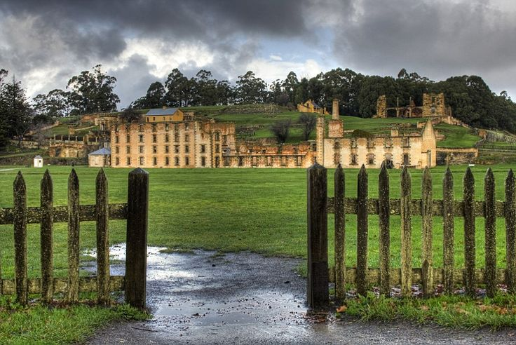 Many of the first convicts in Tasmania lived in Port Arthur on the Tasman Peninsula...