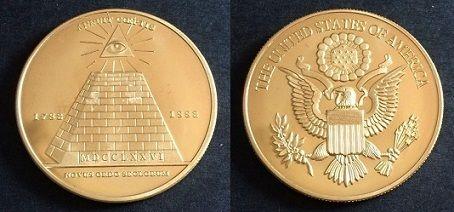 Novus Ordo Seclorum Coin