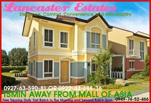 House and Lot Near NAIA,MOA,MANILA-19K MONTHLY.3Room,2CR,2Garage,W Tiles,Detach