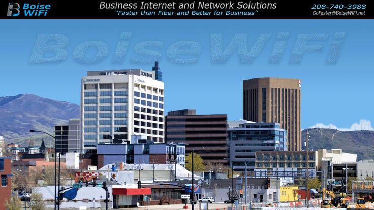 BoiseWiFi Fixed Wireless Broadband Service for
