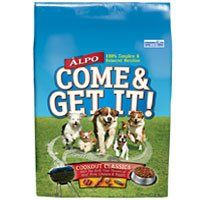 ALPO DOG FOOD COME AND GET IT! DRY BEEF, LIVER, CHICKEN and CHEESE FLAVOR 14 LB BAG -- Can't believe it's available, see it now : Dog food brands