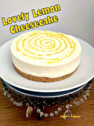 Lovely Lemon Cheesecake... yep, super delicious and real easy to make too!