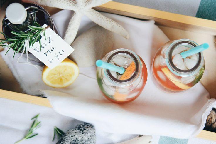 Rosemary syrup with ginger / Rozmarýnový sirup se zázvorem